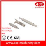 A pulverização de usinagem CNC do pino de metal