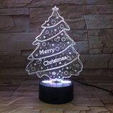 접촉 스크린 Bluetooth 무선 입체 음향 스피커가 크리스마스 선물 크리스마스 나무에 의하여 다채로운 LED 점화한다