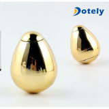 指のジャイロコンパスの復元の金属回転手の紡績工の銀の金の卵