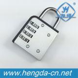 4 디지털 콤비네이션 자물쇠 작은 여행 수화물 안전한 통제 (YH9052)