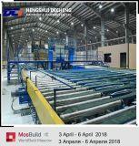 A linha de produção da placa de teto de gesso com Tipo de ar quente de aquecimento directo