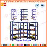 Estante industrial de poca potencia de acero del almacenaje del metal del tormento del almacén (Zhr131)