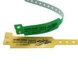Wristband della plastica 13.56MHz RFID di ISO14443A 13.56MHz F08