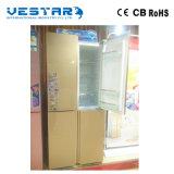 Подгонянная стеклянная сторона двери - мимо - бортовой холодильник с прямой ручкой