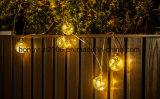 Van de LEIDENE van de Kruik van het Glas van Vintag LEIDENE van Kerstmis van het Koord Fee van Kerstmis Lichte Lightchain