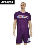 Custom Design logo et motif Maillot de football shirt uniforme et Shorts