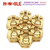 La prensa de cobre/latón en Insertar la tuerca hexagonal, la tuerca hexagonal