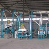 Trituração do trigo da máquina do moinho de farinha do trigo da pequena escala