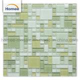 Stock El Color de luz brillantes baldosas mosaico de vidrio para suelos de interior