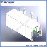 longue cabine de peinture de camion de 15m avec la structure solide et Nice la ventilation