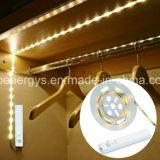 Schlafzimmer-Beleuchtung-Streifen der PIR Bewegungs-Fühler-Licht-Zeichenkette-4AA batteriebetriebener betätigter