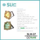 Alta lampada subacquea d'ottone del raggruppamento di luminosità 6W LED (Slw-07b)