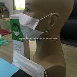 Одноразовые экологических древесной массы бумага маску для лица