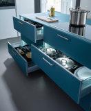 Nuevo diseño de muebles de cocina moderna Lacuqer personalizado gabinetes de cocina negro-40