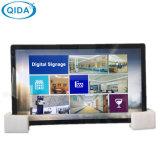 Écran LCD d'épissage de grande taille à l'intérieur d'affichage du lecteur vidéo