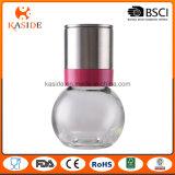 Smerigliatrice di pepe di ceramica del sale della bottiglia di vetro con la protezione inossidabile