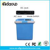 차 냉각기 24L 휴대용 소형 냉장고 차 홈에 있는 자동 DC12V와 AC240V 사용 모두 큰 양 냉각 및 가열 상자 Ar 262c
