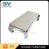 يعيش غرفة أثاث لازم فولاذ [كفّ تبل] طاولة بيضاء رخاميّة مركزيّ