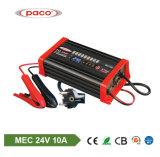 Ligao 24V 10AMP 배터리 충전기 깊은 주기 70-200ah 연산 축전지