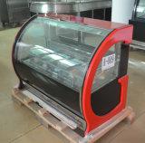 Congelador do indicador para Popsicles Gelato e gelado (F-G550-W)
