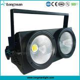 LEDの段階DJの照明100W 2目の穂軸の視覚を妨げるものライト