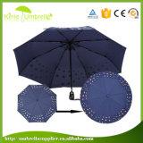 Зонтик печати горячего изменения цвета сбывания изготовленный на заказ Silk