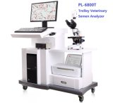 Machine van de Analyse van de Kwaliteit van het Sperma van het karretje de Volledige Automatische