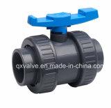 灌漑用水の供給および下水管水に使用されるPn16 UPVCの球弁!