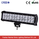 72W 12inch étanche 10-30V bar lumineux pour LED Cree offroad (GT3400-72W)
