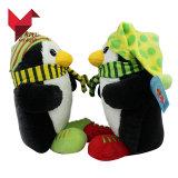 Jouet professionnel de pingouin de peluche d'OEM d'usine pour des gosses