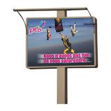LEDの滑走路端燈が付いている表示屋外の掲示板の広告
