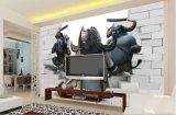 панель стены предпосылки 3D