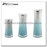 Contenitori cosmetici acrilici rotondi all'ingrosso di lusso su ordinazione di colore e di marchio