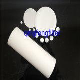 Membrana del filtro de 0.20/0.45 micrones PVDF para la filtración corrosiva de las soluciones