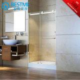 Qualitäts-Riemenscheiben-Dusche-Tür mit Acryltellersegment (BL-B0094-P)