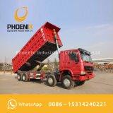 アフリカのための最もよい価格のよい状態使用されたHOWOのダンプトラック12の車輪のダンプカー