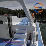 Fibra de vidrio de 18m China FRP Ferry barco de pasajeros de tráfico