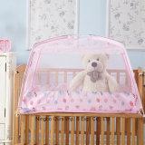 아기 안전 룸 폴리에스테 간이 침대 우산 모기장