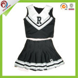 Fill Sblimation Custom School Cheerleading uniform with Spandex Fabric