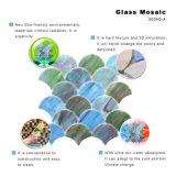 Mosaïque décorative en verre souillé de mur de salle de bains de tuile des Etats-Unis à vendre