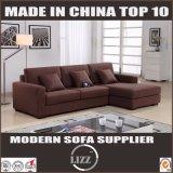 居間のための現代様式快適なファブリック木のソファー