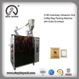 Bolsa de Café por goteo con máquina de embalaje sellado ultrasónico