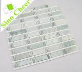 Самый новый зеленый цвет Ming конструкции с плиткой мозаики прокладки Thassos белой мраморный регулярно