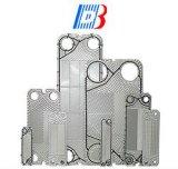 Plaques de Stainless/Ti /Smo pour l'échangeur de chaleur de plaque de garniture
