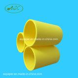 Pipes/tubes en plastique blancs d'enroulement de faisceau de HDPE/ABS pour le film solaire