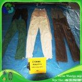 Calças longas usadas da carga de Guangzhou da roupa por atacado