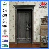 Mahogany нутряная деревенская дверь нутряных дверей деревянная высекая