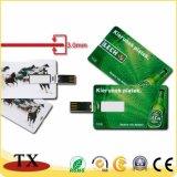 USB do plástico para o disco do USB e do USB do cartão