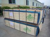 Chapa de madera de chapa de madera artificial 2500*640*107cc de albaricoque gris de 0,5 mm de chapa de ingeniería