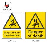 Аварийные предупредительные знаки для электрических, опасность предупредительный знак